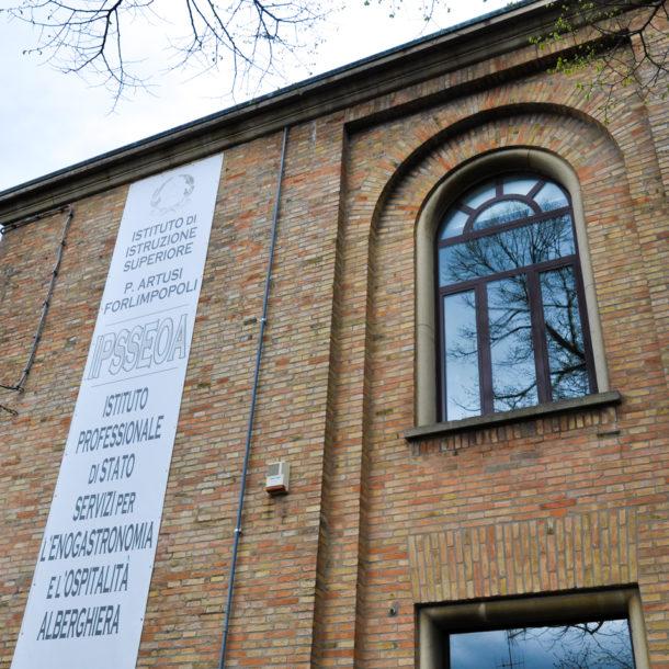 Rilievo istituto alberghiero Pellegrino Artusi Forlimpopoli - Marco Gatelli tecnico geometra di Forlì